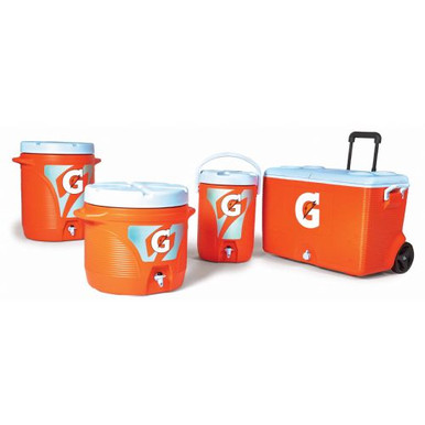 Gatorade Dispensing Cooler - 60 Quart Wheeled Ice Chest