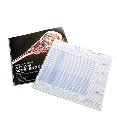 BSN SPORTS Men's Lacrosse Scorebook