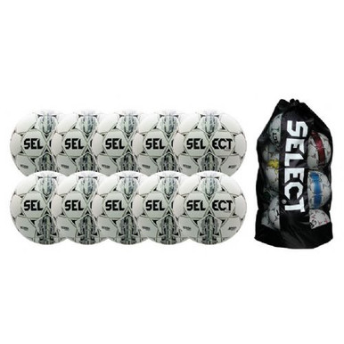 Select Thor Soccerball 10/Pack -Wht/Blk