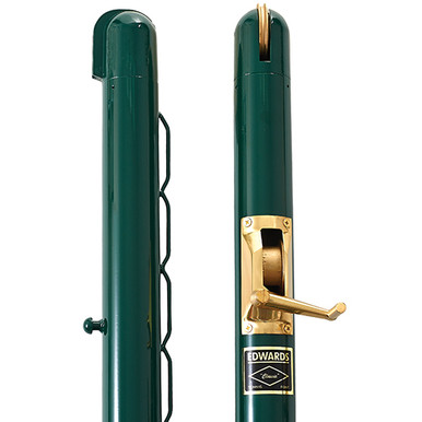 "Edwards 3"" Classic Round Post-Green"