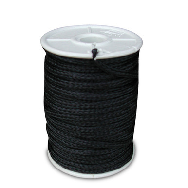 Black Poly Twine 3mm 500' Spool 1