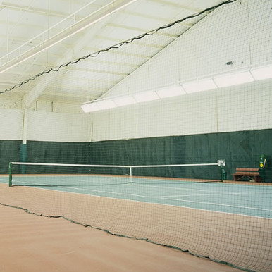Court Divider Netting - Green