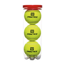 Wilson Practice Tennis Ball - Can
