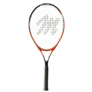 "MacGregor Wide Body Tennis Racquet 27""L - 4 3/8"" Grip (Blue/White)"