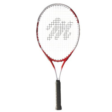 "MacGregor Wide Body Tennis Racquet 27""L - 4 1/2"" Grip (Red/White)"