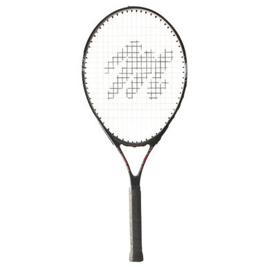"MacGregor Youth Tennis Racquet 25""L - 4"" Grip (Black/Silver)"