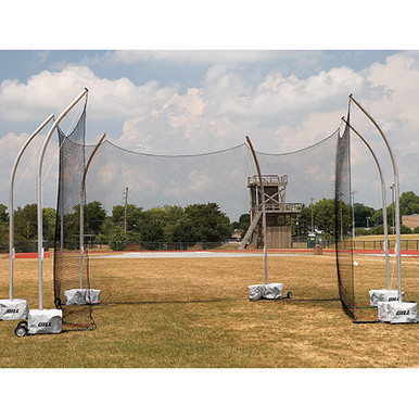 High School Portable Discus Cage