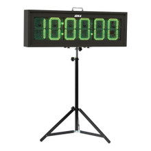 "9"" Digit Race Clock"