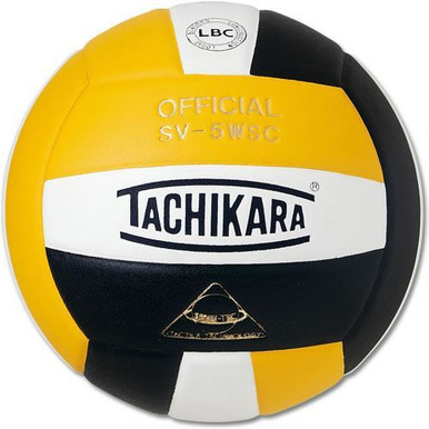 SV5WC Yellow, Black and White Volleyball
