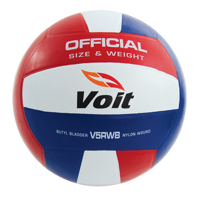 Voit V5RWB Official-Size Rubber Volleyball