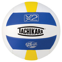 VX2 Softec Volleyball Roya/White/Yellow