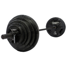 300 lb. Olympic Rubber Coated Grip Plate Set  **Available 8/19/20**