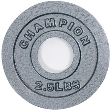 Olympic-Style Plates - 2.5 Lb. **Available 7/15/20**