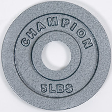 Olympic-Style Plates - 5 Lb. **Available 7/15/20**