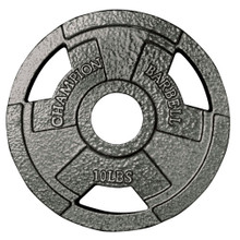 Olympic Grip Plate 10LB  **Available 7/15/20**