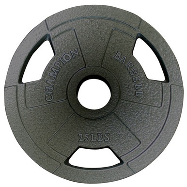 Olympic Grip Plate 25LB **Available 11/20/2020**