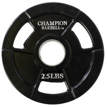 2.5lb Olympic Rubber Coated Grip Plate  **Available 8/19/20**