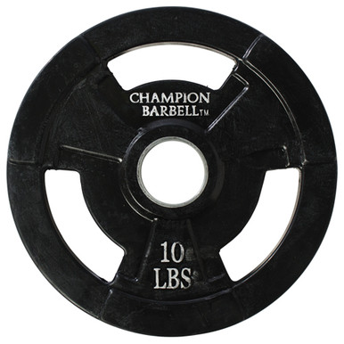 10lb. Olympic Rubber Coated Grip Plate  **Available 8/19/20**