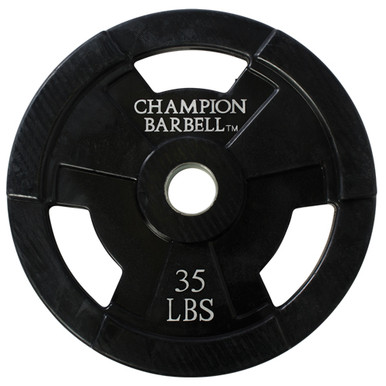 35lb. Olympic Rubber Coated Grip Plate  **Available 8/19/20**