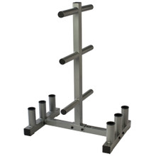 OLYMPIC WEIGHT BAR & PLATE HOLDER  ***Available 7/15/20***
