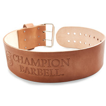 Champion Barbell Cowhide Weight Belt
