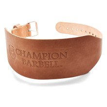 Champion Training Wt. Belt-6in Tapered 1