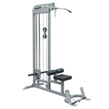 Champion Barbell; Plate-Loaded Lat Pulldown/Low Row Machine