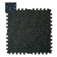 Zip-Tile 28.5x28.5x3/8 Blue Flec 1