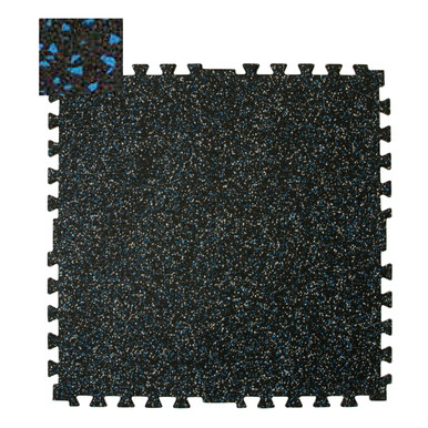 Zip-Tile 28.5x28.5x3/8 Blue Flec 2