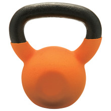 30lb Vinyl Coated Kettlebell ORANGE
