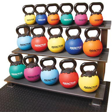 "8"" Rubber Kettlebells - 10lbs. **Available 7/29/20**"