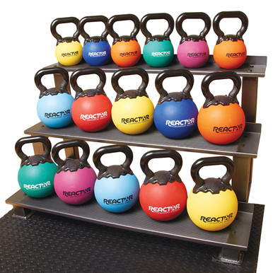 "8"" Rubber Kettlebells - 18 lbs.  **Available 7/29/20**"
