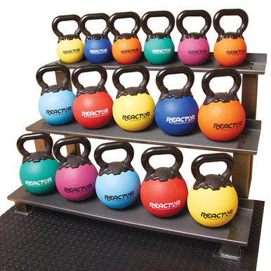 "8"" Rubber Kettlebells - 20 lbs.  **Available 7/29/20**"