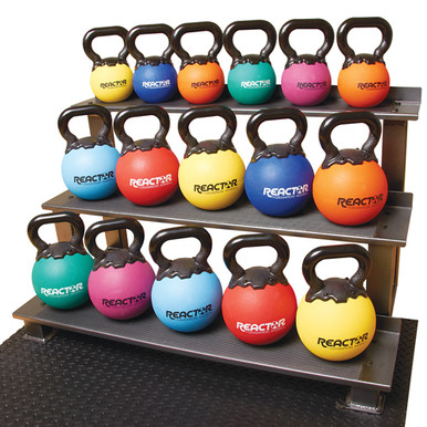"8"" Rubber Kettlebells - 25 lbs.  **Available 7/29/20**"