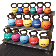 "8"" Rubber Kettlebells - 30 lbs.  **Available 7/29/20**"