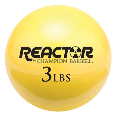 Hand Held Fitness Ball 3lb YELLOW