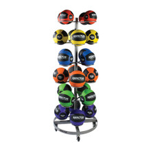6-TIER ROLLING MEDICINE BALL RACK