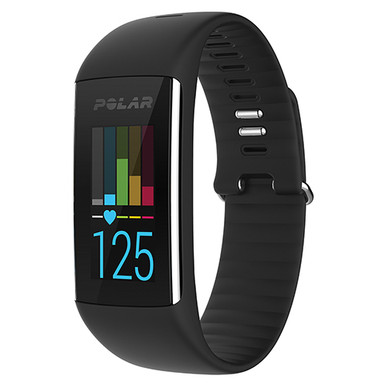Polar A360 Activity Trainer w/Heart Rate Monitor Black SM