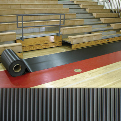 Walkway Runner Mats 2'W x 105'L-Black