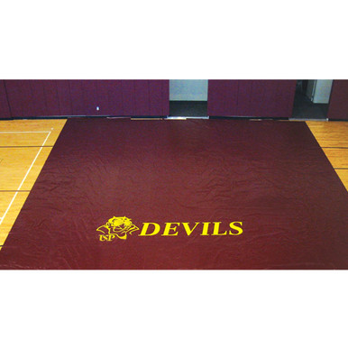 Deluxe Gym Floor Covers - 27 oz.