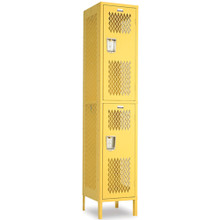 Double Tier Athletic Locker