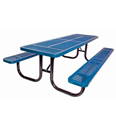 6' Heavy Duty Table Perforated