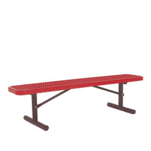 6' Park Bench w/o Back-Portable Diamond