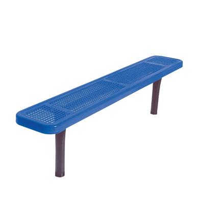 8' Park Bench w/o Back-In-Ground Perf.