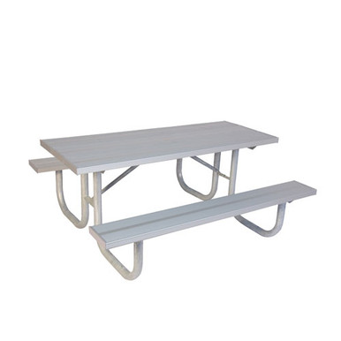 8' H-D Picnic Table - Aluminum