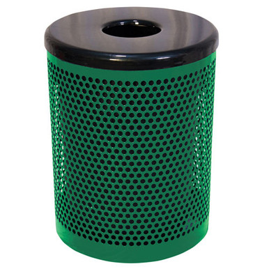 32 Gallon Trash Receptacle Perforated