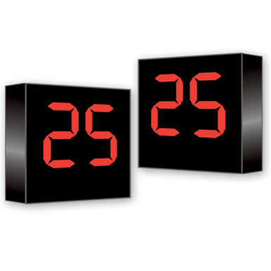Football Delay-of-Game Clock for Existing Scoreboard