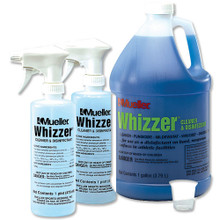 Mueller Whizzer; Cleaner and Disinfectant