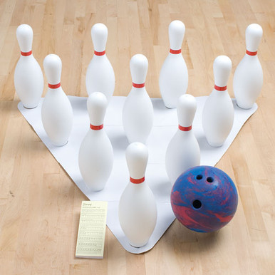 GameCraft® Weighted Bowling Set