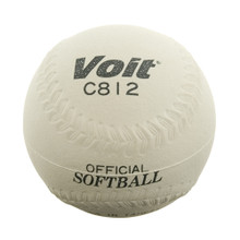 Voit 12'' Sponge Center Softball - White